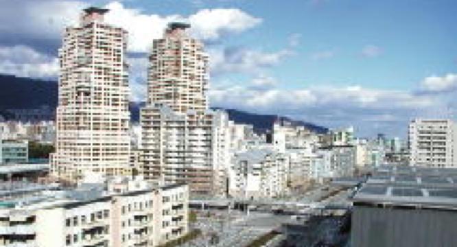 防災関連の国際機関が集積する「HAT神戸」地区