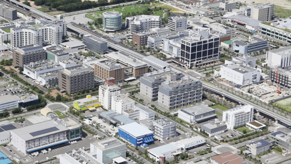 One of Japan's largest medical and biotechnological clusters