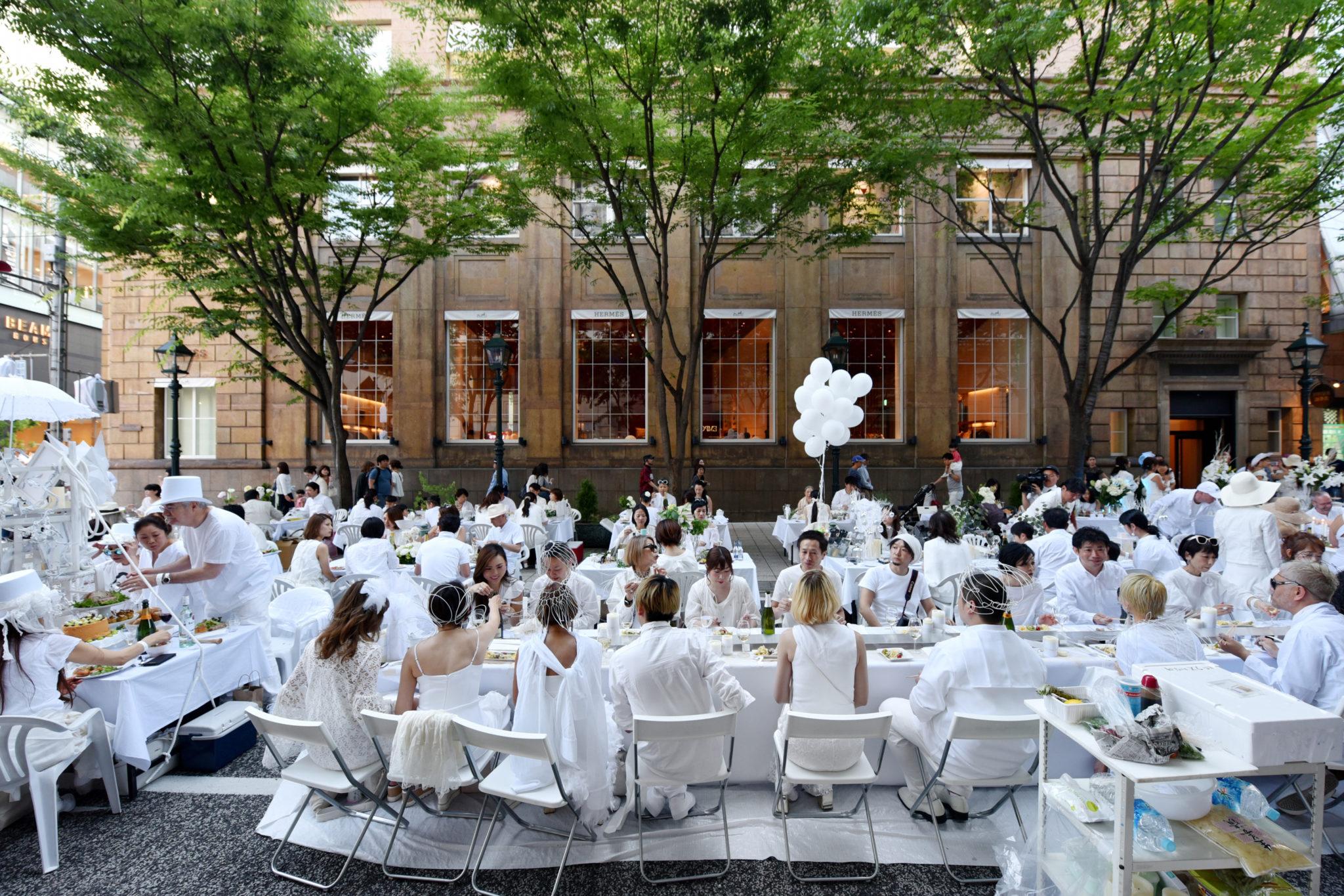 テーマカラーはホワイト!神戸ホワイトディナー開催 | 神戸